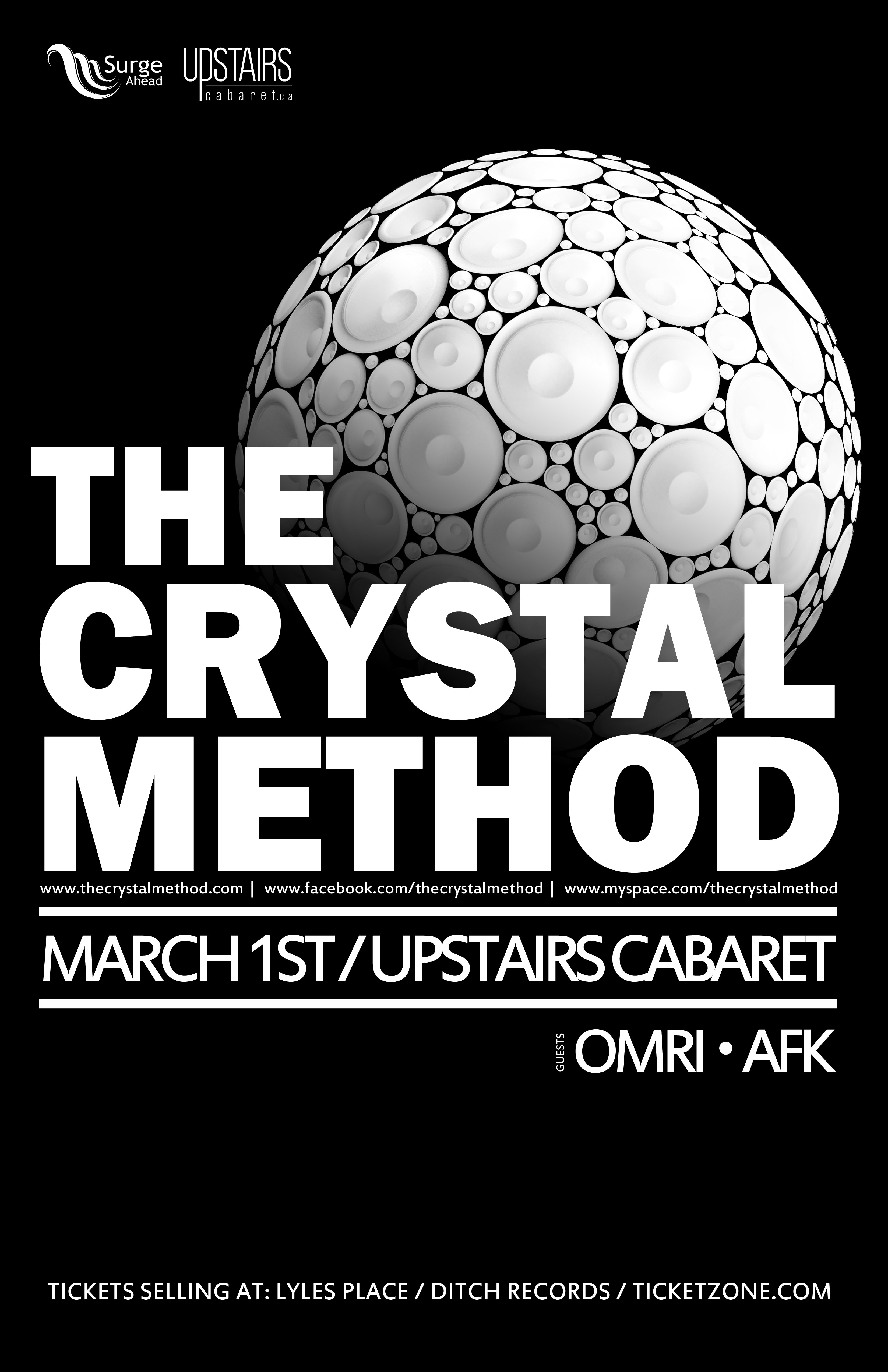 The Crystal Method, March 1st