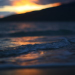 kihei beach sunset