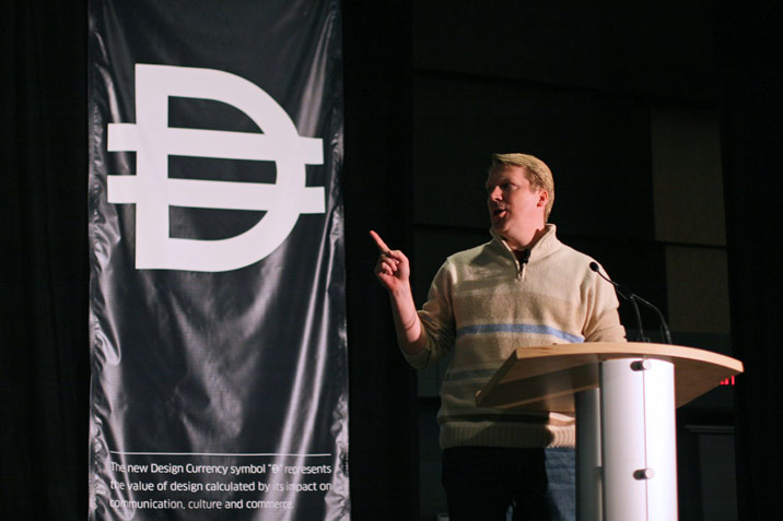 Cameron Sinclair, speaker at Design Currency: Defining the Value of Design