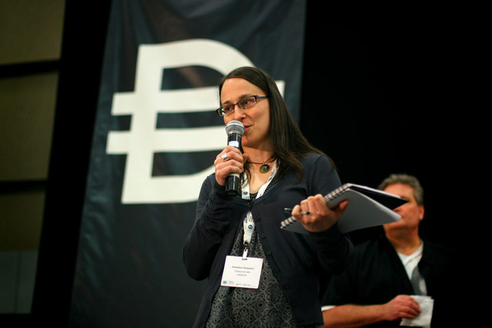 Christina Peressini participating at Design Currency: Defining the Value of Design