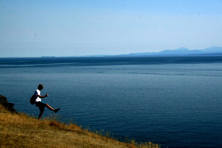 hornby island, labour day, 2006