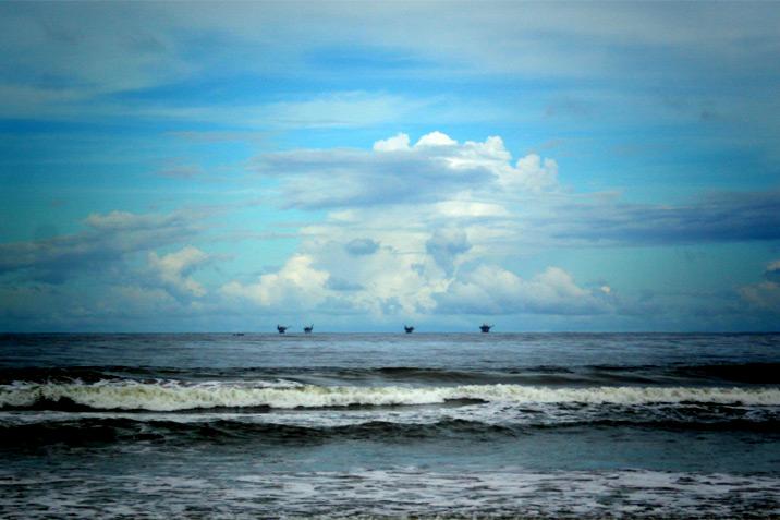 Mayaro Bay, Trinidad